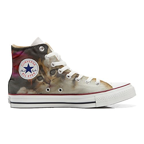 Converse All Star Chaussures Coutume (produit artisanal) Kitty