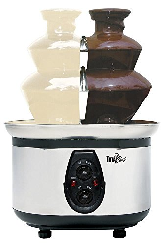 Total Chef WTF-43 Stainless-Steel Double-Tower Chocolate Fountain (Fondue Dual compare prices)