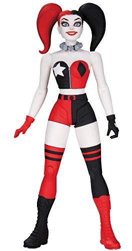 And DC action figure DC Comics designer series Harley Quinn By Darwyn Cooke 6-inch plastic pre-painted action figure