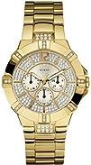 GUESS U13576L1 Dazzling Sport Watch  Gold
