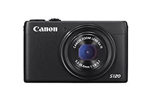 Canon 8407B001 POWERSHOT S120 BLK 12.1MP 5X OPT 3.0IN LCD