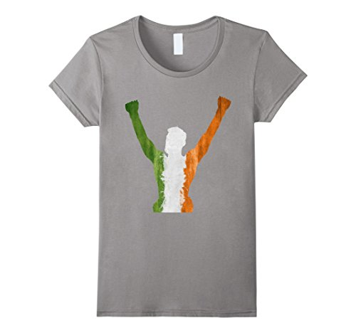 Womens-EmmaSaying-The-Champ-Shirt-Fighting-Champion-Irish-Flag-Tee-Slate