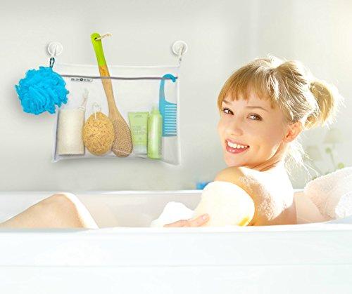 the better bath toy organizer amp shower caddy heavy duty shower caddies beddingtrends
