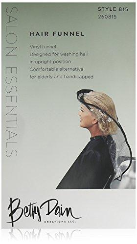 Betty Dain Hair Funnel, Clear (Handicap Shower Wheelchair compare prices)