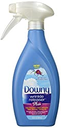 1 X Downy Wrinkle Releaser Plus, Light Fresh Scent, 16.9 Fl. Oz. New Trigger Spray Bottle, Wrinkle Remover + Odor Eliminator + Fabric Refresher + Static Remover + Ironing Aid, with New and Improved Sprayer for More Even Mist.