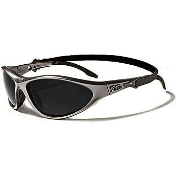 Biker Lunettes de Soleil - Sport - Cyclisme - Ski - Conduite - Moto / Mod. Solar Gris Anthracite / Taille Unique Adulte / Protection 100% UV400