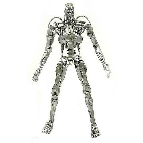 Terminator 2 T-800 Silver Endoskeleton Action Figure
