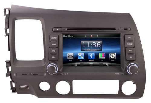 Check Deal OTTONAVI Honda Civic 06 11 OEM Replacement In Dash Double Din  Touch Screen GPS Navigation Radio Online