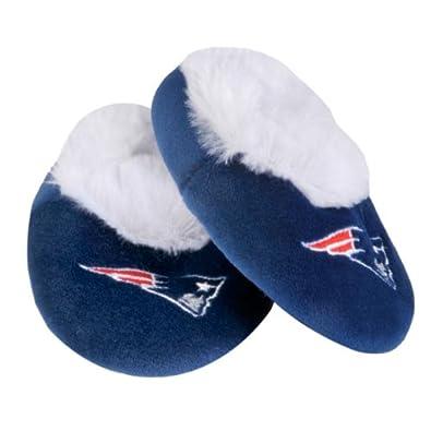 Amazon.com: New England Patriots Baby Bootie Slippers 6-9