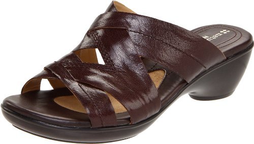 Naturalizer Women's Quinn Sandal,Roasted Chestnut,6 N US