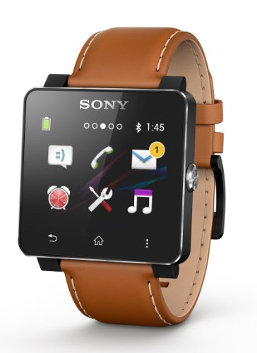 Sony SOSE20M - Correa para SmartWatch 2, marr�n