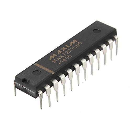 Max7221Cng Max7221 8-Digit Led Display Driver Ic Chip Dip-24 ( By Molona ) Hot Items