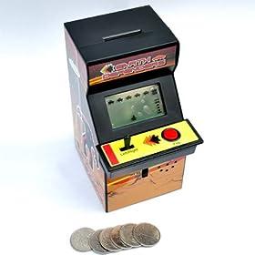 arcade machine money bank