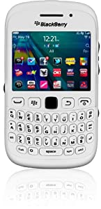 BlackBerry Curve 9320 white on T-Mobile pay as you go
