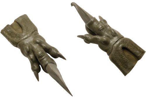Rubie's Costume Pacific Rim Knifehead Latex Hands, Black, One Size