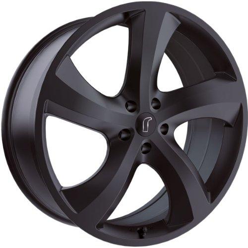 1 x Rondell Design 0047 in 8,5 x 18 ET 53 LZ/LK 5 x 130 Farbe Mat Black für Porsche Cayenne Typ 92A, -N, -H, -HN