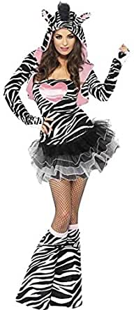 Fever Safari Zebra Womens Animal Costume