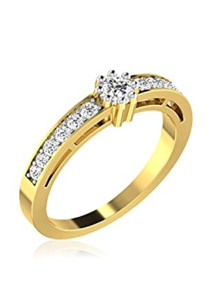 Friendly Diamonds Anillo FDR1091Y (Oro Amarillo)