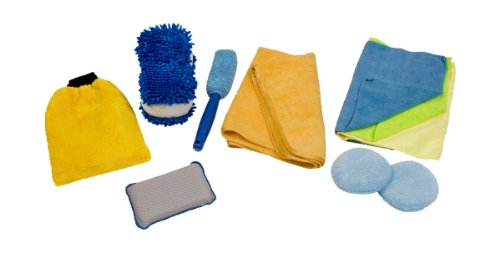Detailer's Choice 1121 Microfiber Cleaning Kit - 10 Piece