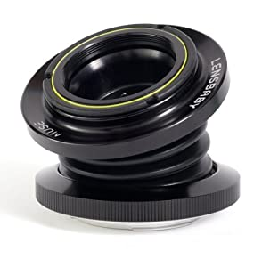 Lensbaby The Muse for Canon EF mount Digital SLR Cameras (Plastic)