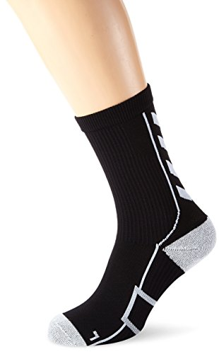 Hummel Calzini corti mod. Tech Indoor Socks Low Nero nero / bianco 12 (41-45)