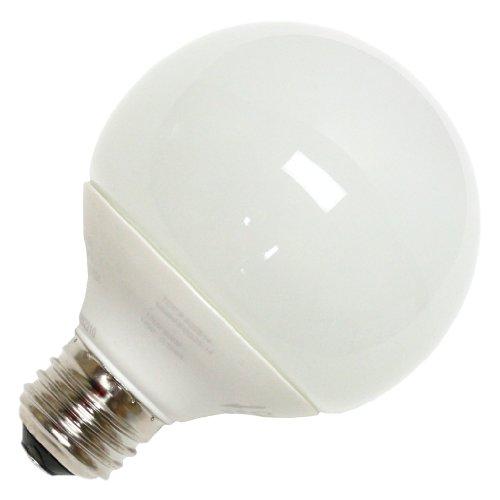 Tcp 2G251435K Cfl G25 - 60 Watt Equivalent (14W) Bright White (3500K) Decorative Globe Light Bulb