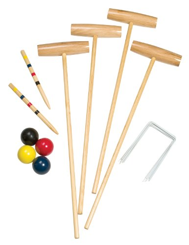 Champion Sports 4 Player Classic Croquet Set