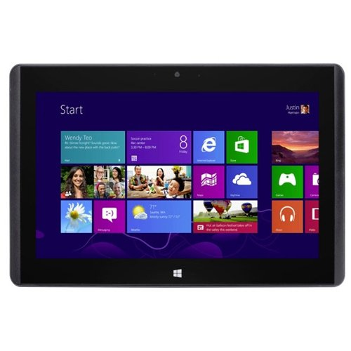 """MSI W20 3M-010FR Tablette tactile 11,6"""" (29,46 cm) AMD Core 2 duo A4 1200 1 GHz 128 Go Windows 8 Wi-Fi Anthracite"""