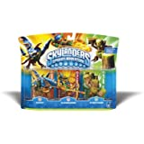 Skylanders Spyro's Adventure Triple Character Pack (Drobot, Flamslinger, Stump Smash)