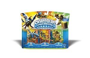 Skylanders Spyro's Adventure Triple Character Pack (Drobot, Flamslinger, Stump Smash)