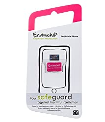 Envirochip - Radiation Protection Chip for Mobile Phone (pink Colour)