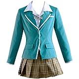 Rosario+Vampire Yokai Academy Moka Akashiya Cosplay Female Uniforms mp002033