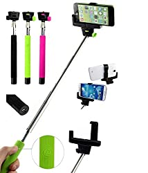 BlackBerry Z10 Compatible Bluetooth Selfie Stick with inbuilt battery and Shutter Button( with 2 Year warranty)