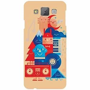 Samsung Galaxy E5 Back Cover Designer Hard Case Printed Cover