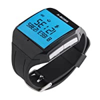 Now Wristwatch Bluetooth Watch with Mic for iPhone 4S, 5,HTC ONE, Android Cellphone by NewNow