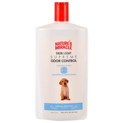 Nature's Miracle Supreme Odor Control Puppy Shampoo, 32 oz (Nature Miracle Shampoo compare prices)