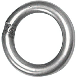Stainless Steel Rappel Ring by Fixe Hardware