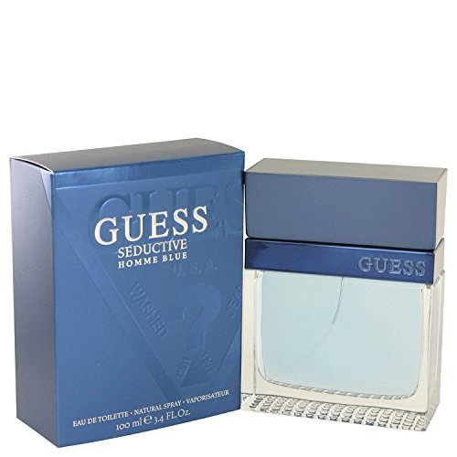 Guess-Seductive-Homme-Blue-34-Oz-Edt-Men-Spray-Cologne-New-NIB-by-Nuttakang-shop