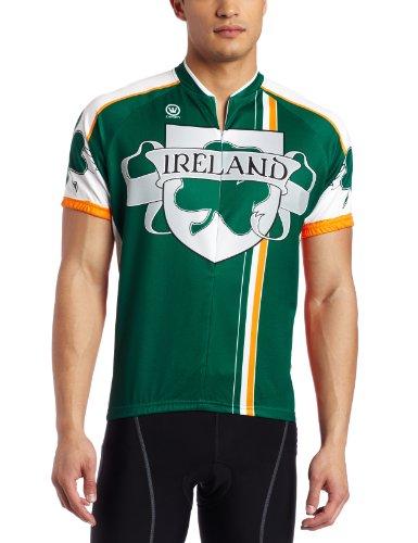Buy Low Price Canari Cyclewear Men's Ireland Short Sleeve Cycling  Jersey (12167 M IRELAND JERSEY)