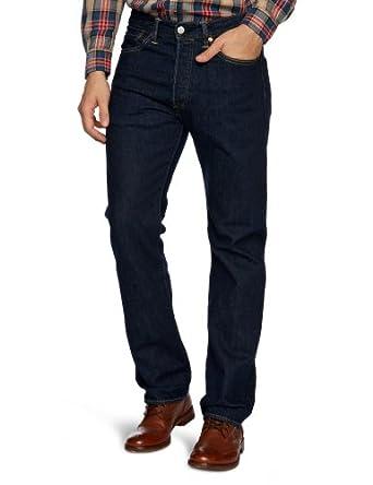 Levi's Men's 501 Original Fit Straight Jeans, Blue (Onewash), W28/L32