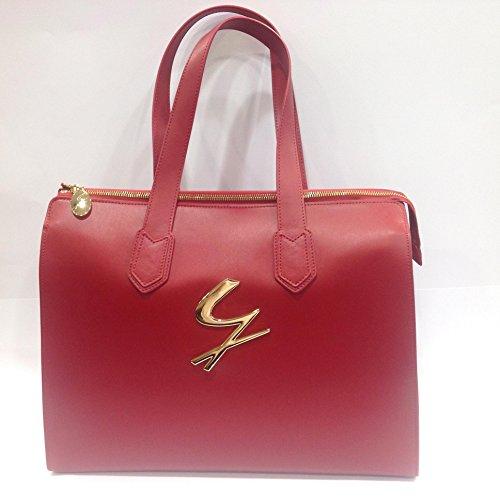 Borsa GATTINONI,shopping in pelle con comoda apertura e pochette estraibile,linea Minerva art G152LWA10187-182