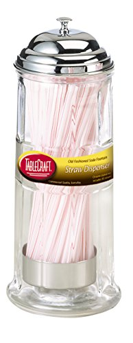 Diner Collection Old Fashioned Straw Dispenser