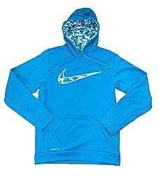 Nike Men\'s Therma-Fit KO Digi Rush Pullover Training Hoodie-University Blue-2XL
