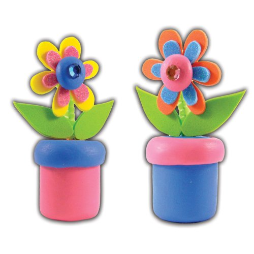 Clay It Kit-Makes 2-Groovy Flower