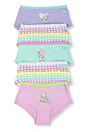5 Pack Cotton Rich Tatty Teddy Shorts