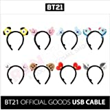 BT21 Tata Hair Band One Size Red_Black (Color: Red)