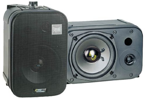 Pyle Home PDMN48 5-Inch 2-Way Bass Reflex Mini-Monitor