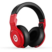 Beats by Dr. Dre Pro Over-Ear 3.5mm Studio Headphones (Red/Black)