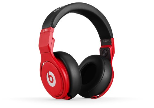Beats Pro Lil Wayne Over-Ear Headphones (Red)