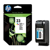 1 Original Printer Ink Cartridge for HP PSC 500 - Colour